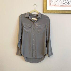 Equipment silk shirt blouse